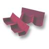 Shiny Pearl Purple Wall Ridge Left to right SCG Roman Tile Hybrid cheap price