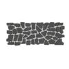 Carpet Stone Natural Black Grey 2 cm cheap price