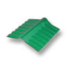 Diamond Small Corrugated Tile Sodchuen Green Adjustable Ridge Upper/Under cheap price
