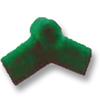 SCG Roman Tile Hybrid Green Adjustable End  Ridge Upper cheap price
