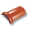 กระเบื้องคอนกรีต ตราเพชร ทองแดงศุภมงคล ครอบสันโค้ง ราคาถูก