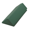 Ayara Oriental Emerald Green Gloss Barge End cheap price