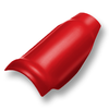 Shiny Pearl Red Round Hip Ridge SCG Roman Tile Hybrid cheap price