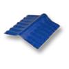 Diamond Small Corrugated Tile Roongroj Blue Adjustable Ridge Upper/Under cheap price