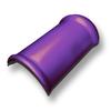 ห้าห่วง ไตรลอน สีม่วงมุกแพลทตินั่ม ครอบสันหลังคา สันตะเข้ (รุ่นเก่า)  ราคาถูก