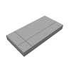Concrete Block La linear Graphic 02 30x60x6 cm Red cheap price
