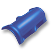 Shiny Pearl Blue Round Ridge SCG Roman Tile Hybrid cheap price
