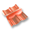 Diamond Roman Tile Cordia Orange Wall Ridge Left to Right cheap price