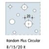 อะคูสติก Knauf Cleaneo Random Plus Circular UFF 8/15/20R ราคาถูก