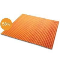 Translucent Tiny Curl 1.2 mm Orange cheap price