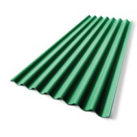 Diamond Small Corrugated Tile Sodchuen Green cheap price