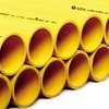 ท่อร้อยสายไฟ สีเหลือง ปลายเรียบ พีวีซี อริยะ ชั้นคุณภาพ 3 ราคาถูก