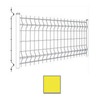 SCG Mesh fence WAVE Yellow  cheap price