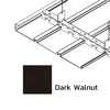 ฝ้าเหล็ก กัลวาไนซ์ ตัวเอฟ F-Plank Metalworks ลายไม้ Dark Walnut ราคาถูก
