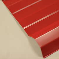 Tristar Metal Sheet Small Rib Bright Red cheap price