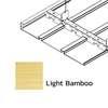 ฝ้าเหล็ก กัลวาไนซ์ ตัวเอฟ F-Plank Metalworks ลายไม้ Light Bamboo ราคาถูก