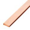 ทองแดงเส้นแบน หน้า 1 1/4 นิ้ว หนา 3/16 นิ้ว นน. 1.38 กก./ม. ราคาถูก