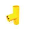 สามทาง ร้อยสายไฟ สีเหลือง พีวีซี อริยะ ราคาถูก