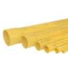 Thai Pipe PVC Electrical and Telephone Conduit Yellow End Socket Class 2 80 mm 3-inch Length 6 m 低价