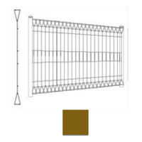 SCG Mesh fence DIAMOND Brown cheap price