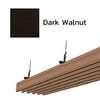 ฝ้าอลูมิเนียม ลายเส้น Metalworks ลายไม้ Dark Walnut ราคาถูก