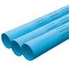 ท่อพีวีซี สีฟ้า ปลายเรียบ เซาะร่อง อริยะ ราคาถูก