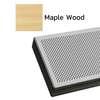 ฝ้าเหล็ก กัลวาไนซ์ ลายเส้น อะคูสติก Metalworks V-P500 ลายไม้ Maple Wood ราคาถูก