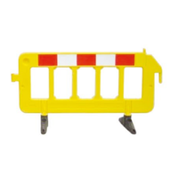 Crowd Control Barrier Red & Yellow cheap price