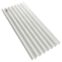 Translucent Small Corrugated Sheet SCG White 0.8 mm cheap price