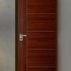 ประตูลีโอวูด IGG46 Mahogany 90x200 ซม. ราคาถูก