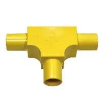ARR PVC电气和电话黄色检查三通 低价