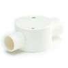 SCG PVC Electric Telecom White BS 2 Way Through Box 16 mm 3/8-inch 低价