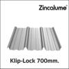 เมทัลชีท บลูสโคป ลอนคลิปล็อค V-700BLH Zinculume 0.4 มม. ราคาถูก
