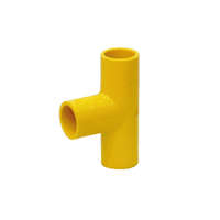 Red Hand PVC Electric YELLOW Tee Socket cheap price