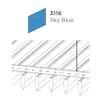 ฝ้าอลูมิเนียม ลายเส้น Linea Streamline สี 3116 Sky Blue ราคาถูก