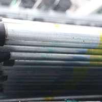 Galvanized HDG Round Steel Pipe Yellow cheap price