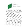 ฝ้าอลูมิเนียม ลายเส้น Linea Slim สี 3126 Grass Green ราคาถูก