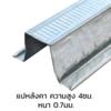 แปหลังคา (ใหญ่) 4.0 ซม. 6 ม. 0.7 มม. (4.90-4.99 กก.) ราคาถูก