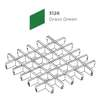 ฝ้าตะแกรงอลูมิเนียม ช่องเปิด Space Cubes สี 3126 Grass Green ราคาถูก
