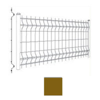 SCG Mesh fence WAVE Brown cheap price