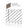 ฝ้าอลูมิเนียม ลายเส้น Linea Slim ลายไม้ WD-8014 California Nut ราคาถูก