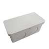 กล่องพักสายไฟ สี่เหลี่ยม 4x2 สีขาว พีวีซี อริยะ ราคาถูก