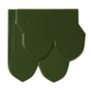 Excella Fish scale Classic Green Jadeite Tiles  cheap price
