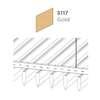 ฝ้าอลูมิเนียม ลายเส้น Linea Streamline สี 5117 Gold ราคาถูก