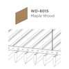 ฝ้าอลูมิเนียม ลายเส้น Linea Streamline ลายไม้ WD-8015 Maple Wood ราคาถูก