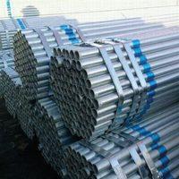 Galvanized HDG Round Steel Pipe Blue cheap price