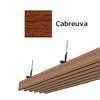 ฝ้าอลูมิเนียม ลายเส้น Metalworks ลายไม้ Cabreuva ราคาถูก