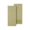 ประตูพีวีซี PVC Unix Super ครีมลายไม้ ราคาถูก