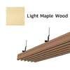 ฝ้าอลูมิเนียม ลายเส้น Metalworks ลายไม้ Light Maple Wood ราคาถูก
