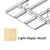 ฝ้าเหล็ก กัลวาไนซ์ ตัวเอฟ F-Plank Metalworks ลายไม้ Light Maple Wood ราคาถูก